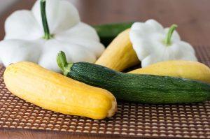 Freezing Fresh Raw Whole Zucchini