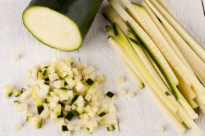 How to Prepare Fresh Zucchini for Freezing
