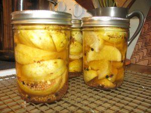 Lemon Cucumber Pickles