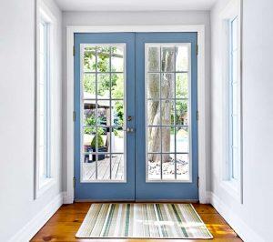 center swing patio doors